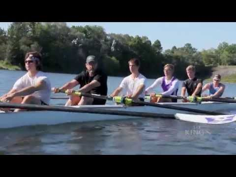 King's Principal hits the water with Western Rowing team