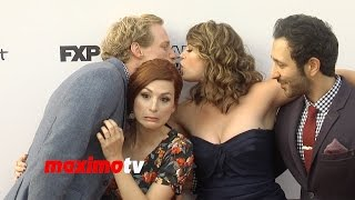 "FX's ""You're the Worst"" Premiere Chris Geere, Aya Cash, Kether Donohue, Desmin Borges"