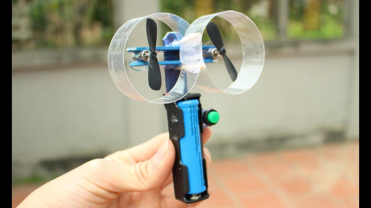 Comment faire un mini ventilateur  main lectrique  YouTube