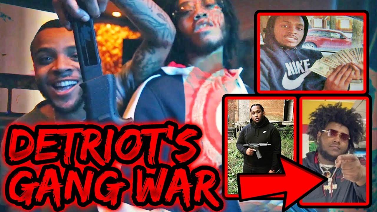 DETRIOT'S GANG WAR: CASHGANG vs BANDGANG