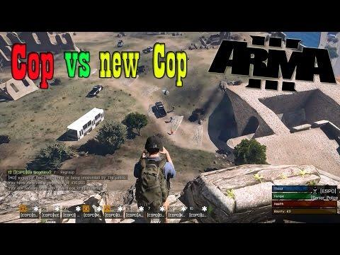 Arma3:Altis Life-สอบเข้าเป็นตำรวจ ยิงกันระหว่างตำรวจเก่า VS ตำรวจใหม่