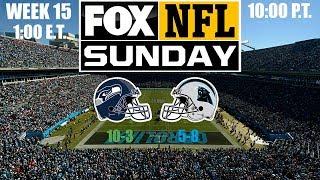2019 NFL Season - Week 15 - (Prediction) - Seahawks at Panthers