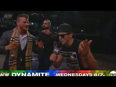 "Sammy Guevara Sings Chris Jericho's Theme Song ""Judas"" AEW Dynamite"