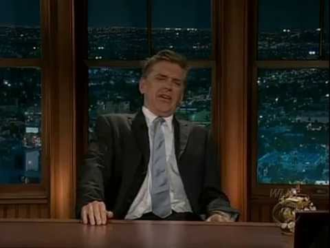 Late Late Show with Craig Ferguson 5/15/2009 Ewan McGregor, All American Rejects