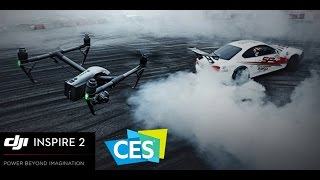 Mindblowing DJI Inspire 2 Drone -  which goes 50mph in 5 Seconds in CES 2017