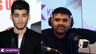 Naughty Boy Comes Clean over Zayn Malik Drama | KISS