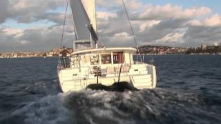 VICSAIL SYDNEY.Lagoon 400 BOAT TEST.