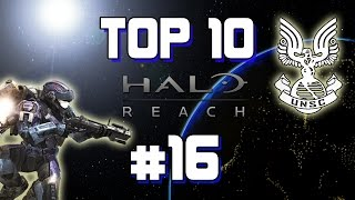 "Top 10 - Halo: Reach Ep. #16 | ""Wins, Fails y WTF's"""