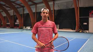 Nick Cmager - College Tennis Recruiting Video (Fall 2019)