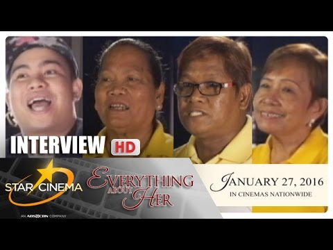 Interview | 'Everything About Her' | Angel, Xian, Ms. Vilma | Strong Chemistry | Star Cinema