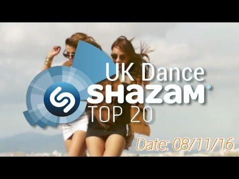 UK TOP 20 - Dance Shazam Chart (08/11/2016)