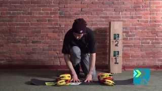 Signal Park Positive Camber Flex Test - Stiffness of the 2014 Signal Park snowboard?