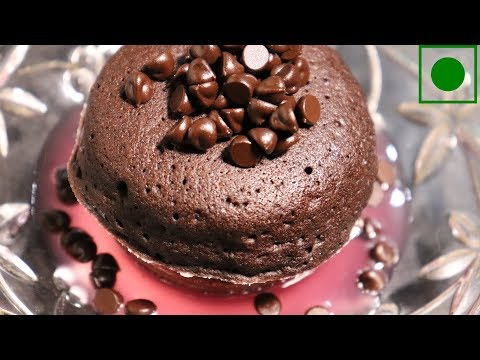 Chocolate Filled Cocoa Muffin (100% eggless)