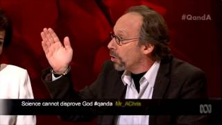 lawrence krauss answers question on science religion on qa