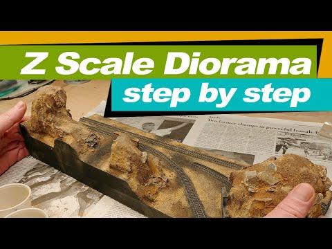 Build A Diorama In Z Scale | Step By Step