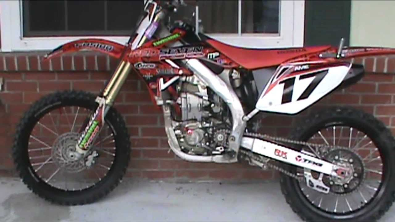 2005 Honda Crf 450 R For Sale 1200 Youtube