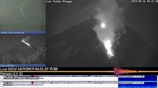 16/09/2019 04:28 WIB - Mt Merapi