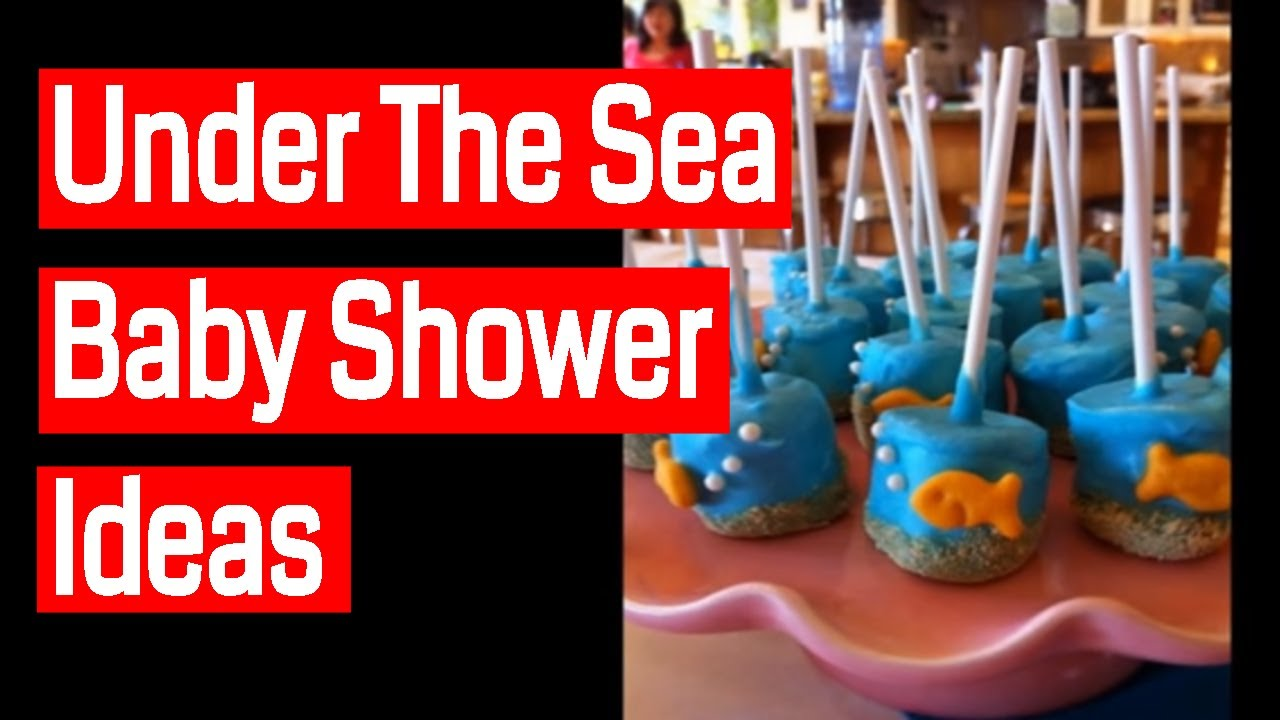Under The Sea Baby Shower Ideas - YouTube