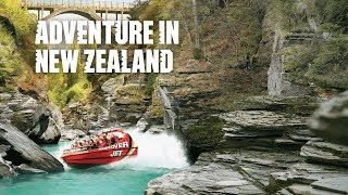 Queenstown, New Zealand: Sky dives to canyon swings