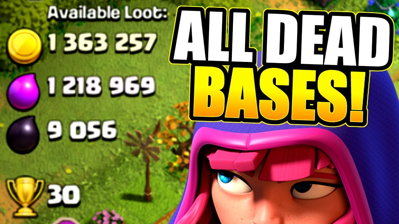 HOW TO FIND THE LEAGUE OF DEAD BASES!