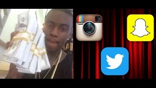 Soulja Boy is Now Charging his Fans $100 for a Follow Back on Twitter / Instagram or SnapChat. thumbnail