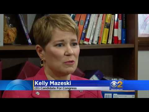 TV News Coverage of Kelly Mazeski's Campaign Launch on Chicago CBS, NBC, ABC and Fox Affiliates