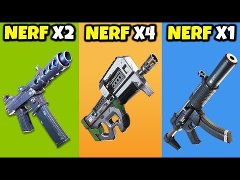 The BIGGEST Weapon Nerf In Fortnite History Just Happened... | Chaos