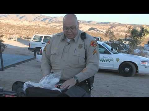 """The Mojave""  Kern County California Sheriff's Department Off Road Command Post (segment one)"