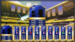 10 Walkouts Ligue 1 TOTS Pack Opening 100k Fifa Points Fifa 17 Ultimate Team