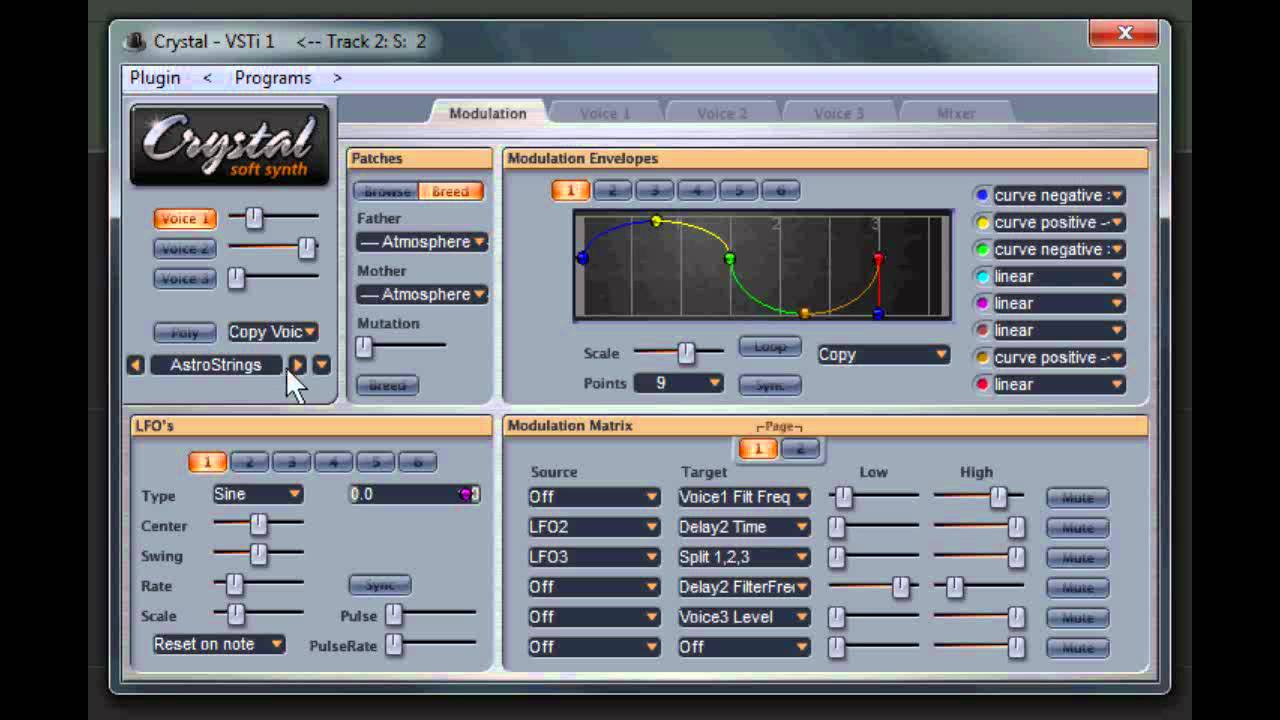 crystal soft synth by greenoaks video 1