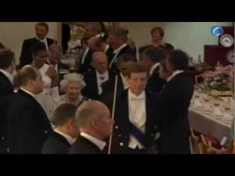 Cena de gala en Buckingham Palace para los Obama
