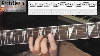 ★Zwei krasse Übungen für mehr SCHNELLIGKEIT bei Solo´s und Lead Gitarre | Tutorial + Tabs★