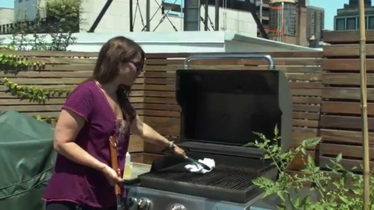 the b team how to clean your grill youtube