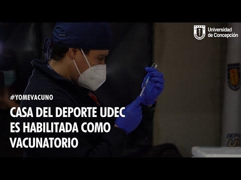 #YoMeVacuno: Gimnasio B de la Casa del Deporte es Habilitado como centro de vacunación
