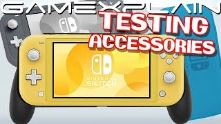 The Switch Lite Accessories You Need! Screen Protectors, Cases, & More TESTED!