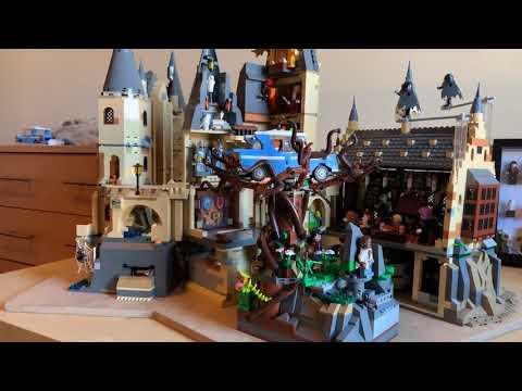 LEGO MOC Harry Potter HOGWARTS