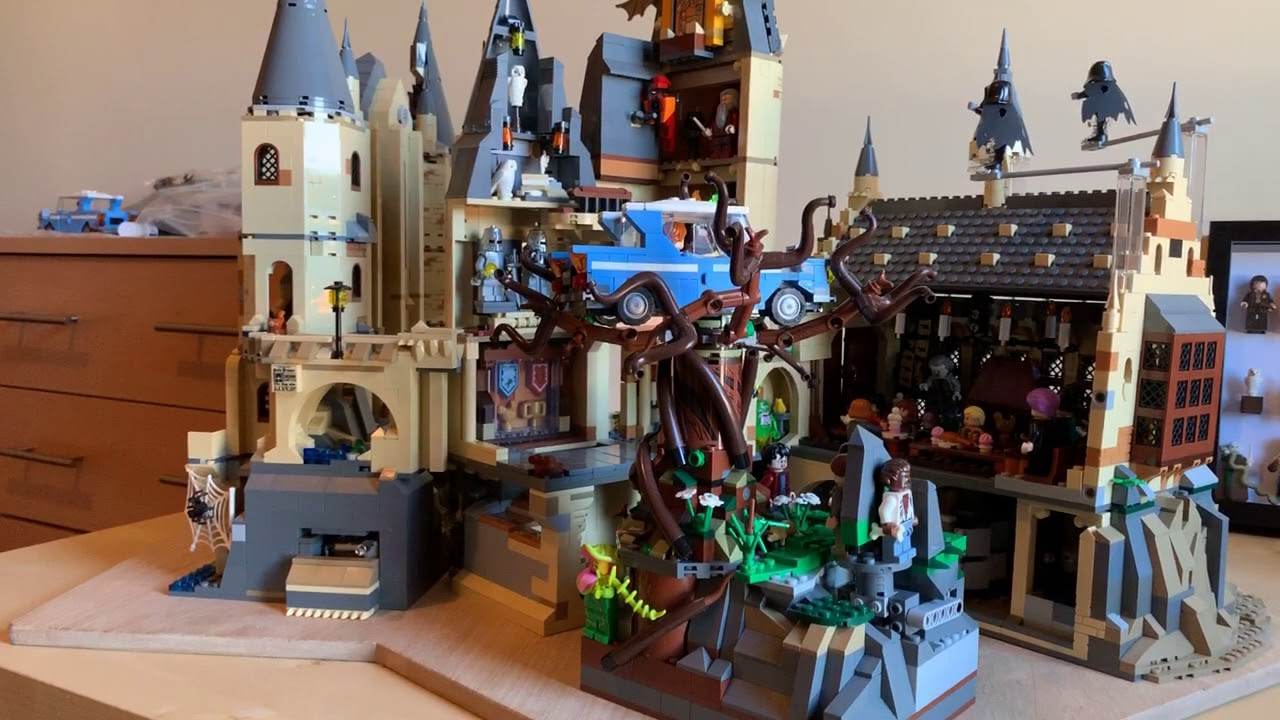 LEGO MOC Harry Potter HOGWARTS - YouTube