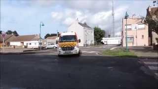 SDIS 59 Sapeurs Pompiers de Dunkerque départ des VSAV