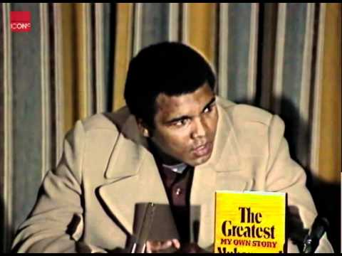 Thrilla in Manila - Muhammad Ali on Joe Frazier
