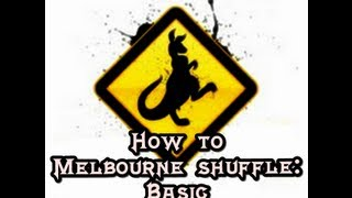 How to Melbourne Shuffle (English - Spanish) Basic (By KALAMEDE)