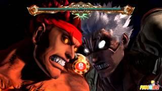 Asura's Wrath - Lost Episode 1 - Asura vs Ryu!