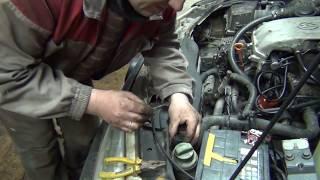 VW Passat B4. AEK. Не работает вентилятор охлаждения
