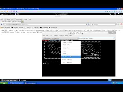 Website Hacking - SQL Injections - Sqlmap Introduction