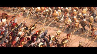 Battle of Raphia 217 BC | Total War Rome 2 historical movie | Ptolemaic Egypt Vs Seleucid Empire