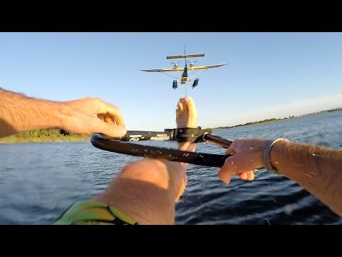 GoPro: Airplane Waterskiing