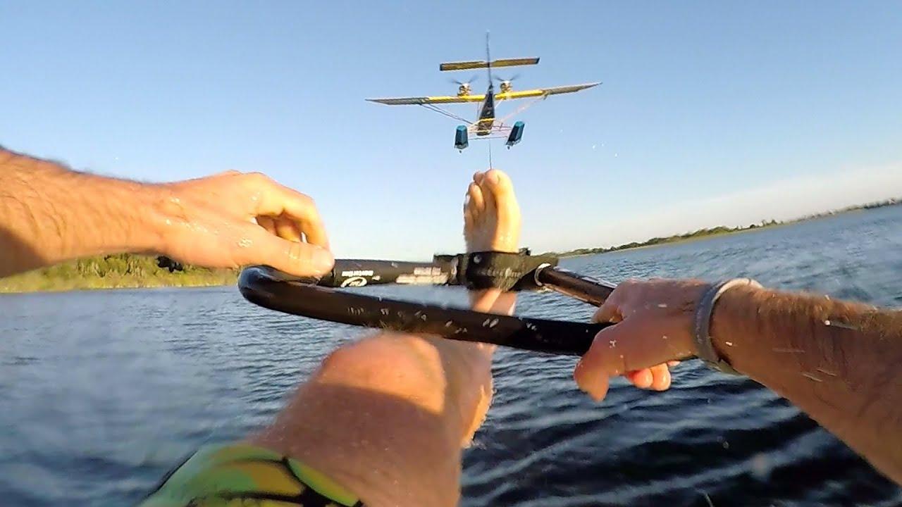 gopro airplane waterskiing youtube