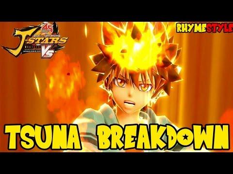 J-Stars Victory VS: Hitman Reborn Tsuna Character Breakdown (Special Moves & Attacks)