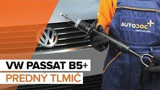 Montáž zadné a predné Pružina VW PASSAT: video príručky