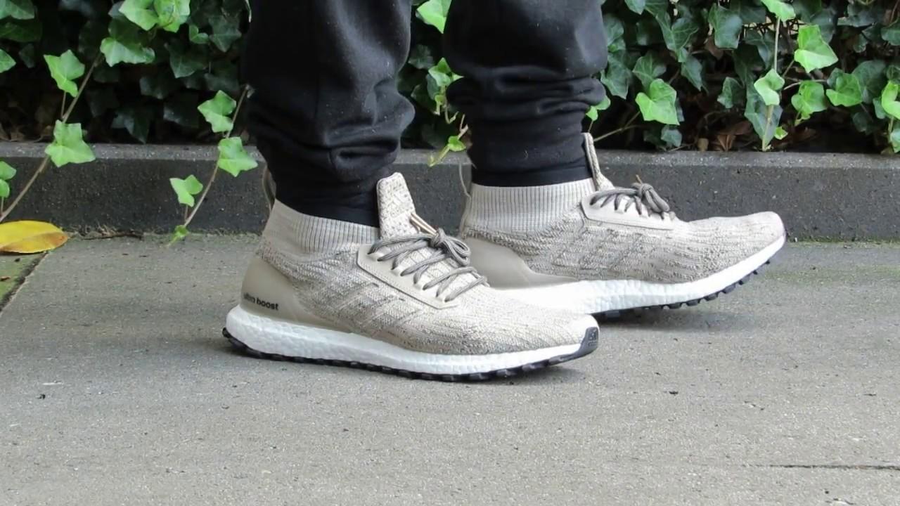 Adidas Ultra boost ATR MID ( Khaki ) On feet
