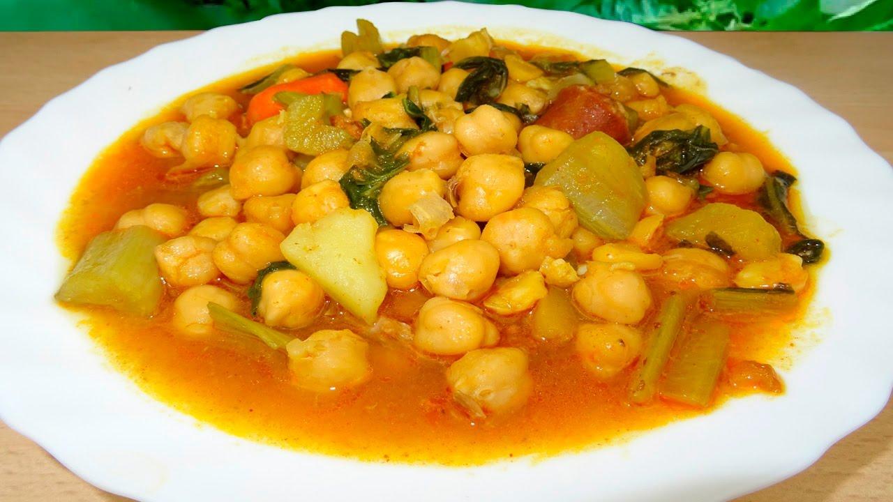 Recetas De Cocina Española Faciles | Cocido Andaluz Receta Facil De Cocina Espanola Youtube